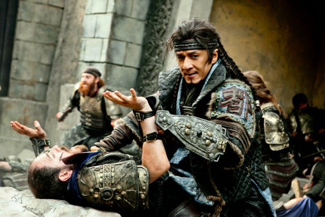Una immagine del film Dragon Blade di Daniel Lee