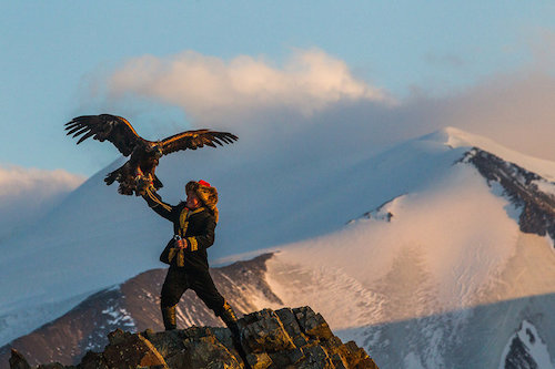 The Eagle Huntress - Film - 2016 - Otto Bell